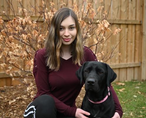 volunteer, puppy sitter